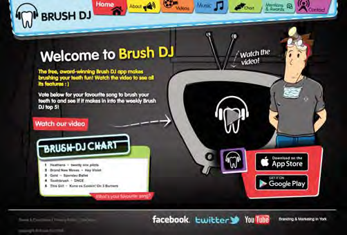 Brush DJ